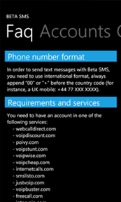 Beta SMS - Send SMS from BetaMax and VoIP providers - MSPoweruser