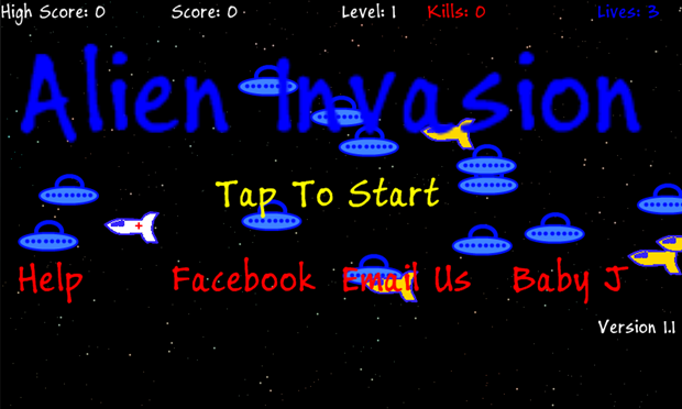 Alien Invasion for Windows Phone 7 tests your reflexes to breaking point 14