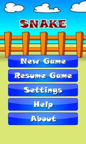 Snake for Windows Phone 7 6