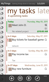 Ahead Solutions releases MyThings to-do list v3, a major update, with user accounts, live tiles and notifications 22