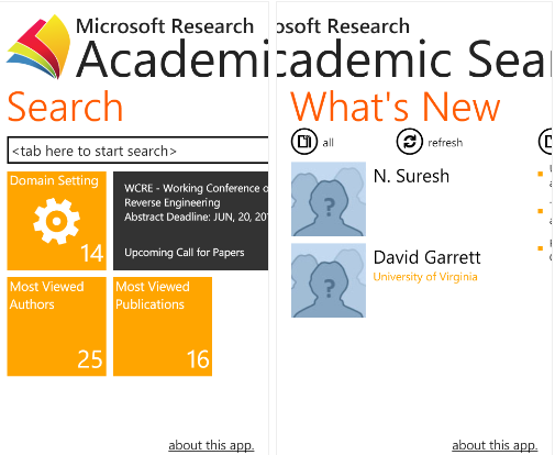 microsoft research paper search At microsoft, research plays a crucial role in driving those breakthroughs our researchers, scientists, and engineers have influenced virtually every micros.