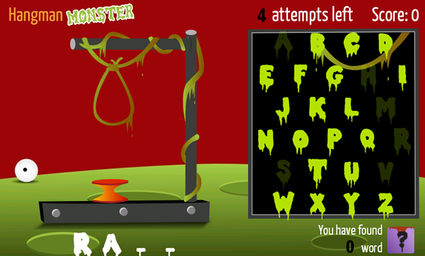 Discover for FREE 'Hangman : Monster' - The first hangman game with world records and thousands of players. 1