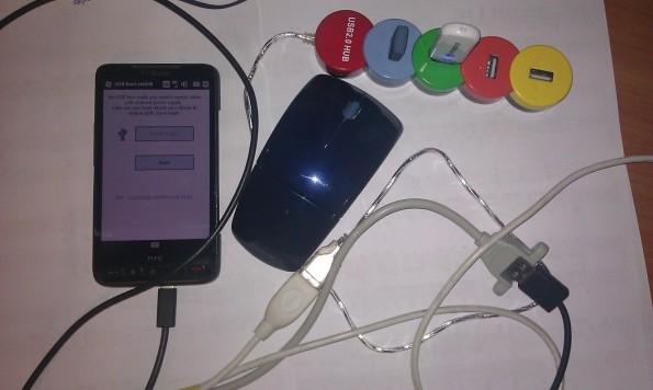 HTC HD2 gets USB Host 4