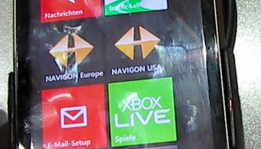 IFA 2011 : Navigon sat nav  for Windows Phone 7.5 hands-on 7