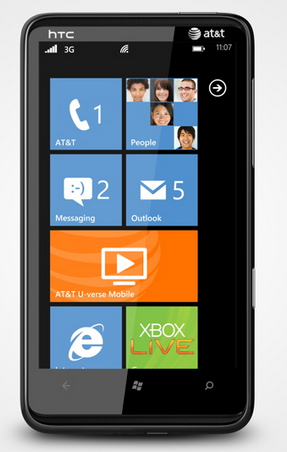 AT&T HTC HD7S Devices To Get Windows Phone Mango On Oct-11?? 3