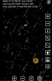 SkyMap for Windows Phone 7.5 Gets Full Point to Sky Experience 2
