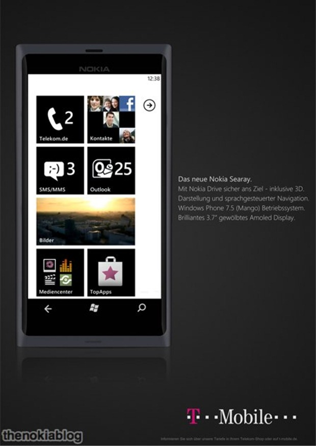 Nokia Searay supposedly pops up on T-Mobile's website again 4