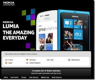 nokia homepage 1