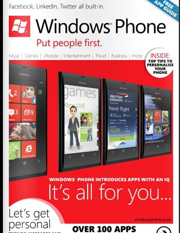 Windows Phone app magazine