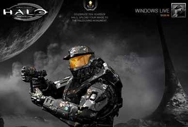 halo monuement website