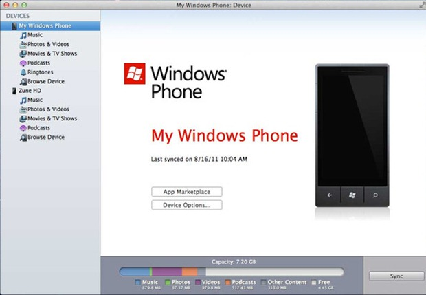Tinder sur windows phone 7