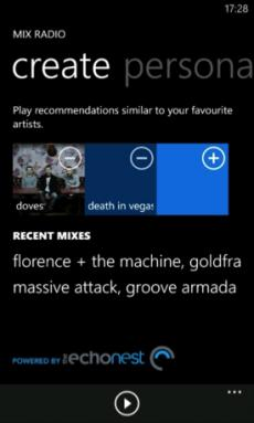 Nokia Music update adds personalized Mix stations, Gigfinder 3