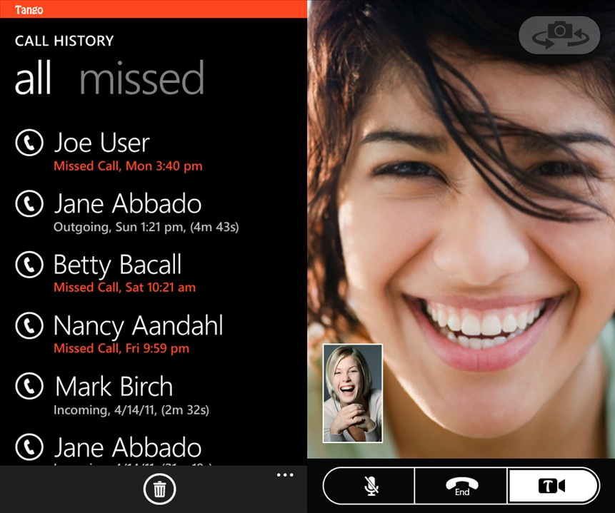 Tango Video Chat App Now Live In Windows Phone Marketplace