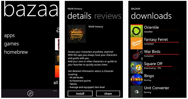 download homebrew apps for wp7