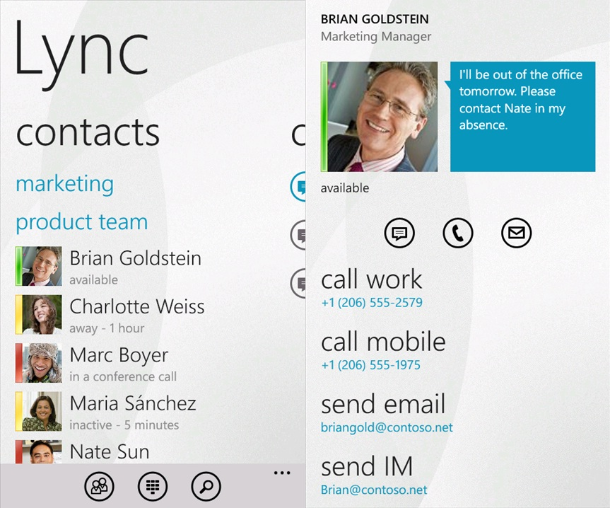 Lync Mobile Client For Windows Phone Now Available For