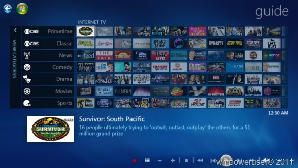 Workaround for no television guide available in Windows ...