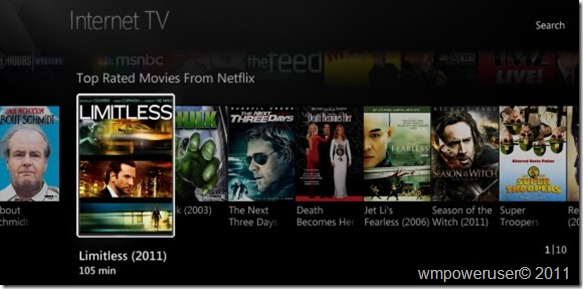 WMC top rated movies from Netflix