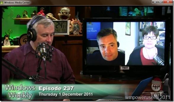 WMC Windows Weekly Video podcast