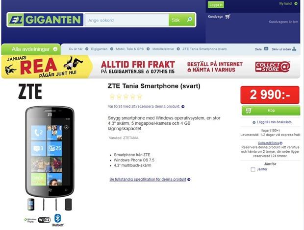 ZTE-Tania-elgigantenj