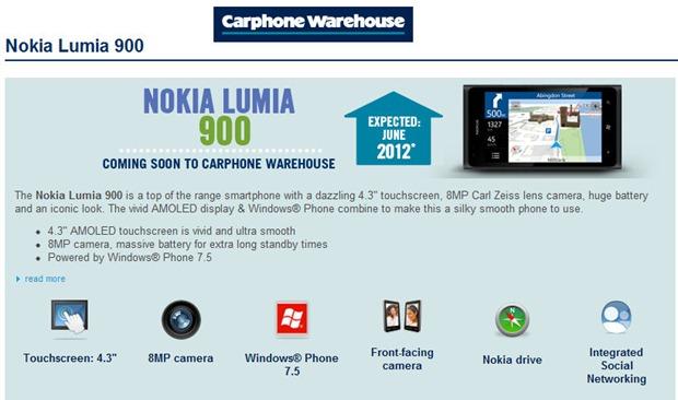 cpwNokia Lumia 900