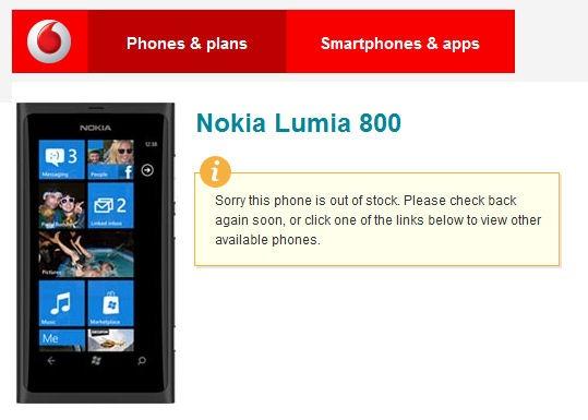 Nokia Lumia 800 sells out in Ireland 6