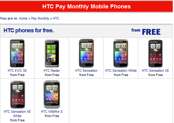 HTC Titan disappears from UK online stores 9
