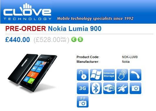 nokia900pre-order