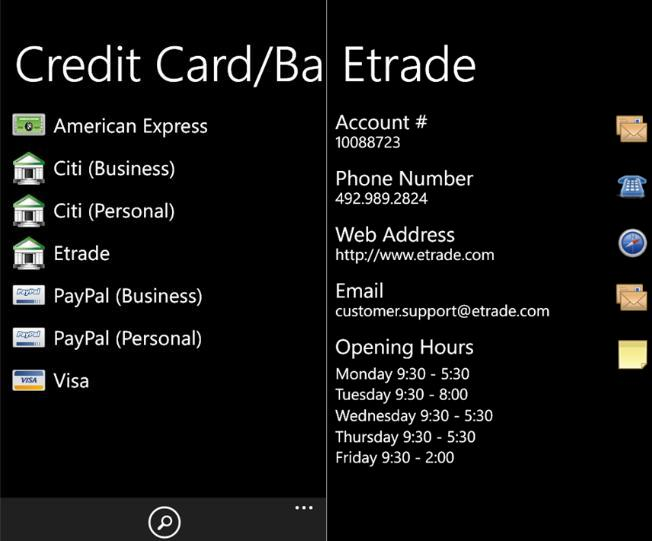 SafeWallet Password Manager Now In Windows Phone Marketplace