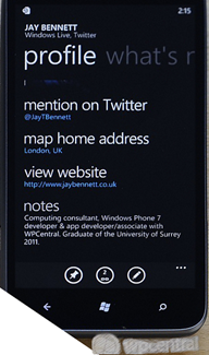 Another stealth upgrade brings Twitter bios to the People Hub 8