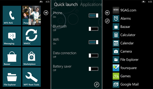 Custom Rom for Lumia 800 and Lumia 710