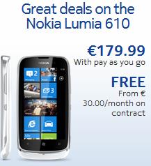Nokia Lumia 610 now available in Ireland 5