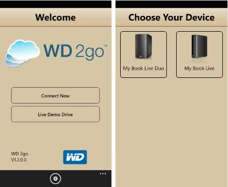 Western Digital Releases Its WD 2go App For Windows Phone