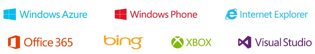 Microsoft Has Officially Posted In On The Web For First Time Along With Other Products Logos