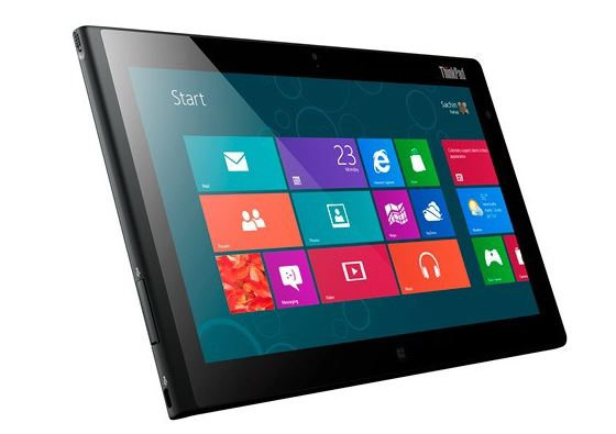 Thinkpad 2 Windows 8 tablet
