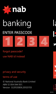banking-passcode