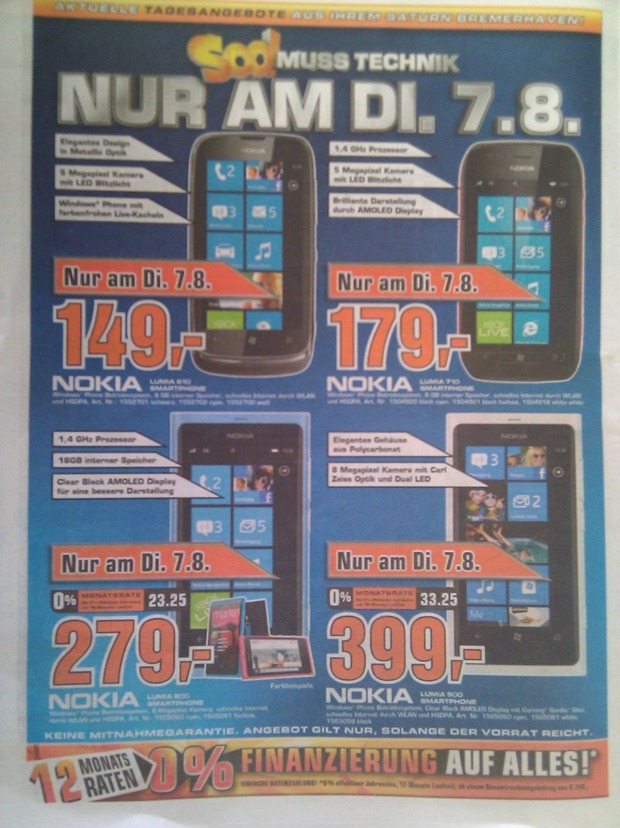 massive lumia sale