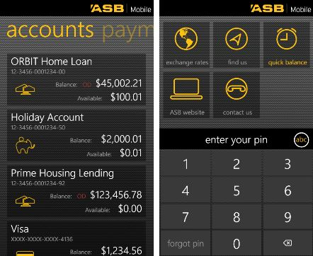 ASB Bank Mobile Banking App Now Live In Windows Phone ...