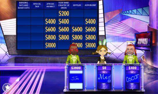Jeopardy Game App