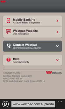 Westpac-Windows-Phone-Internet-Banking