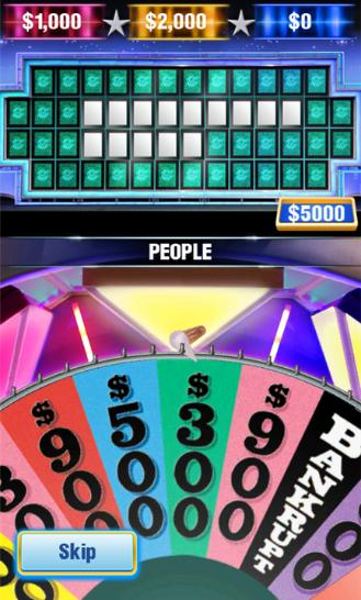 Wheel Of Fortune American Game Show