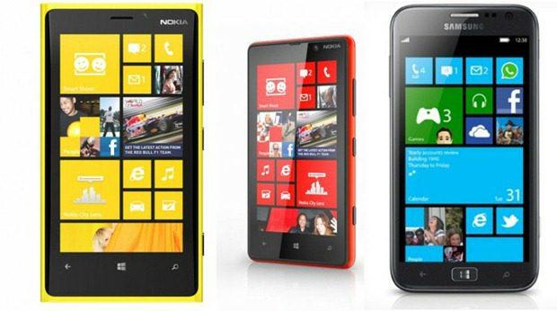 windowsphone8 handsets