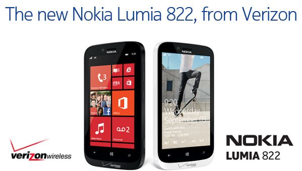 Nokia Lumia 822 Verizon 1
