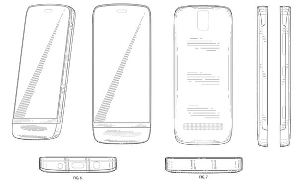 Nokia design patent