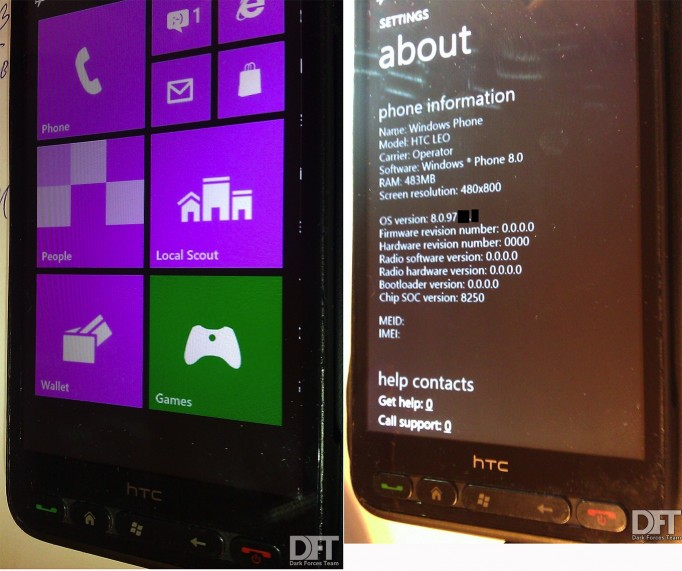 Windows Phone 8 hacked onto HTC HD2 - Hope for all WP7 x