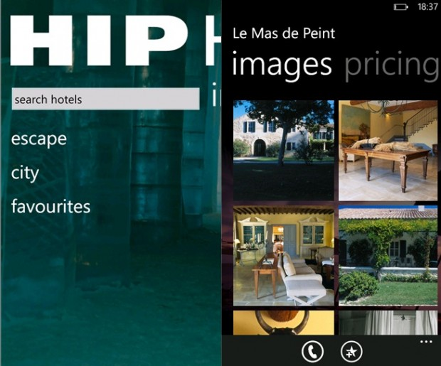 Hip hotels app now available for windows phone devices for Hippest hotels