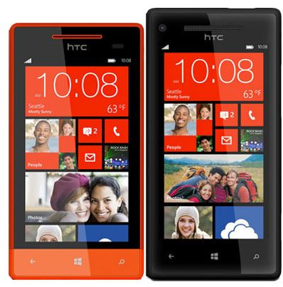 HTC One 8X and 8S Windows Phone