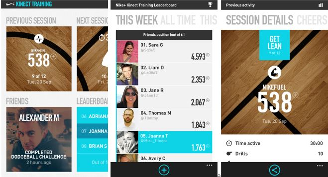 The Nike+ Kinect Training Application Now Available In