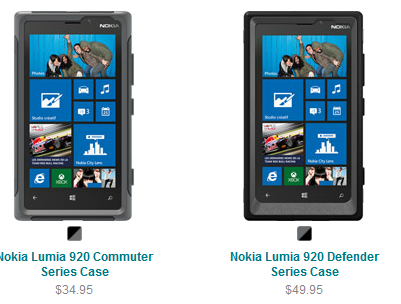 Otterbox Has Made Their Rugged Cases Available For The Nokia Lumia 920