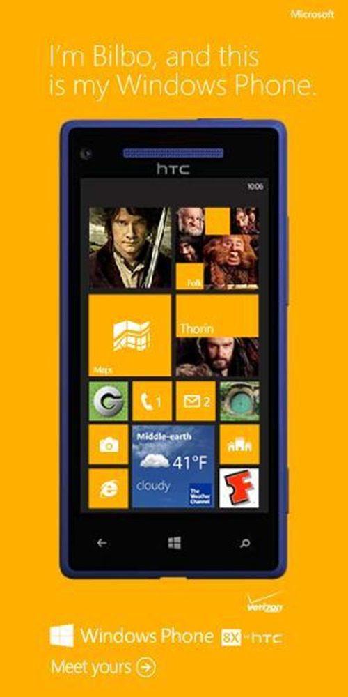 Бильбо Бэггинс: вот мой Windows Phone!