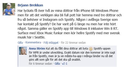 Spotify-WP8